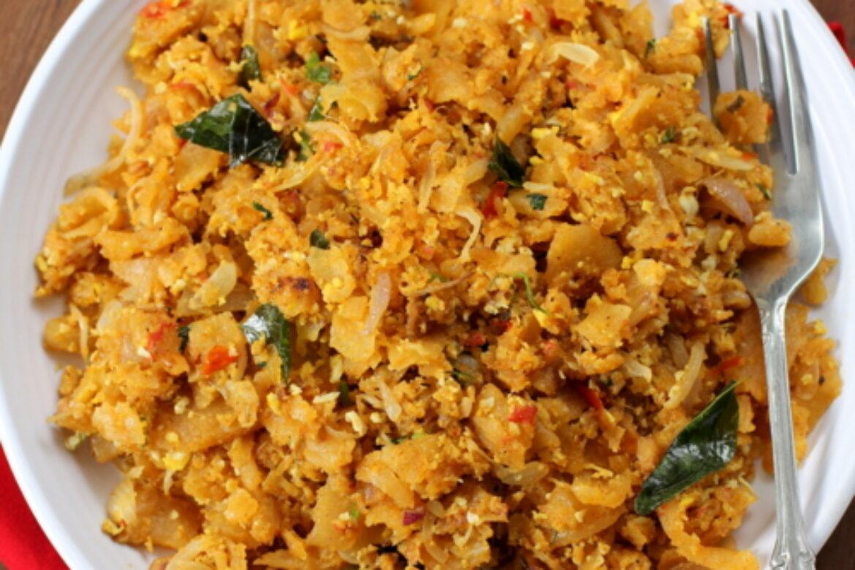 Egg Kothu Roti