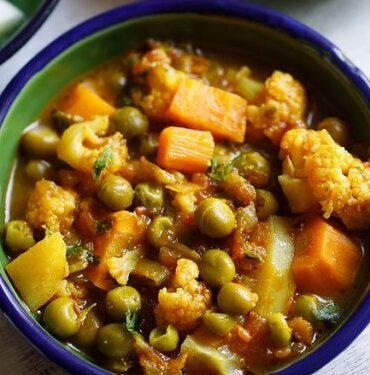 Mix-Veg Curry