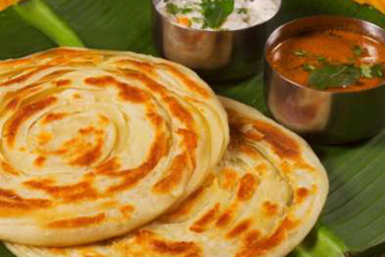 2 Malabar Parata with Curry